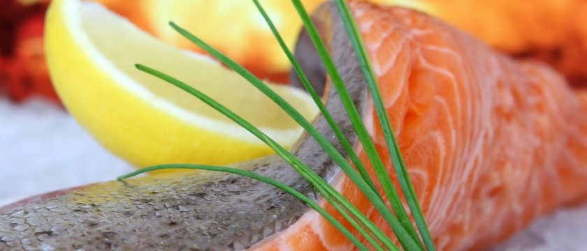 Grilled Salmon, fish rich in omega-3s